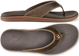 Men's Alania Waterproof Leather Beach Sandal