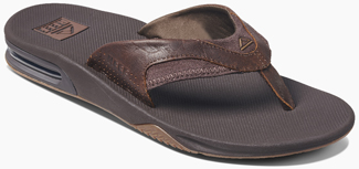 Men's Full Grain Leather Fanning Sandal