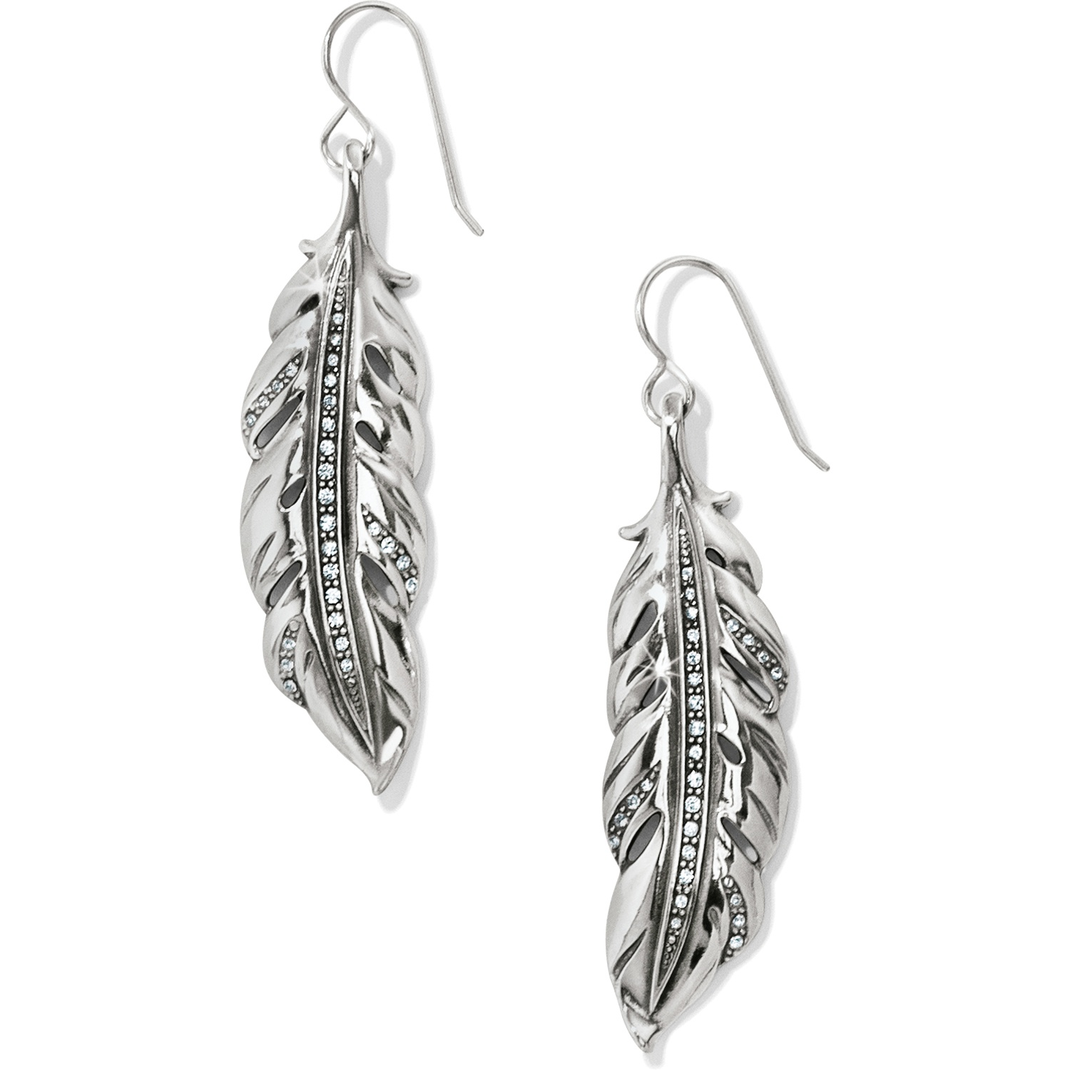 Contempo Ice Feather Earrings JA4061