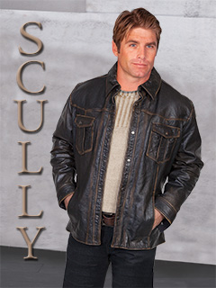 Scully Men's Leather wear