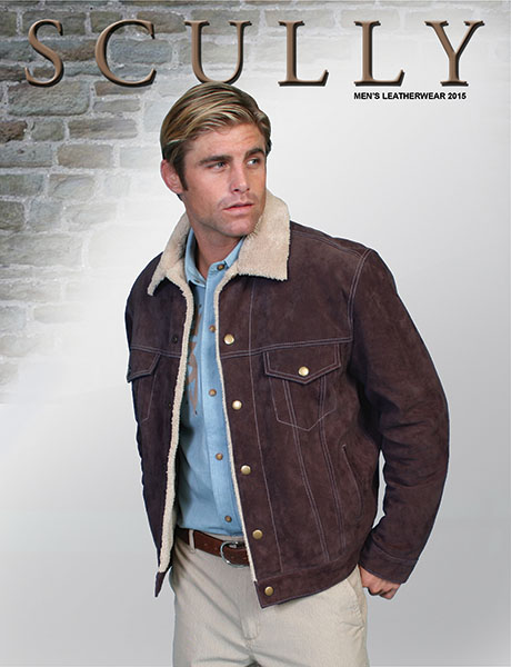 Scully Mens Leather wear