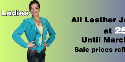 Leather Jacket Sale Ladies
