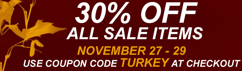 Thanksgiving Day Sale on Sale Items