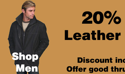 Leather Items 20 Percent Off