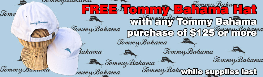 Free Tommy Bahama Hat