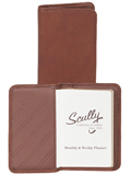 [Scully Canyon Leather Personal Weekly Planner]