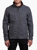 [KUHL Men's Burr Combed Cotton Ottoman Weave Jacket]