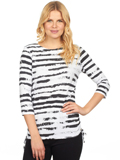 [FDJ French Dressing� Cloud Stripe Top]