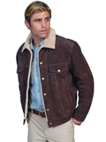 [Mens Scully Men's Boar Suede Jacket]
