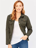 [XCVI� Clothing Raw Edge Safari Jacket]