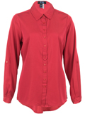[FDJ French Dressing� Women's Twill Tunic Blouse]
