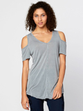 [XCVI� Clothing Women's Madaline Cold Shoulder Rayon Top]