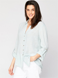 [XCVI� Clothing Porter Cotton Gauze Blouse]