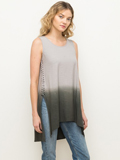 [Mystree Braided Sides Dipdye Cotton Tunic]