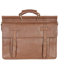 [Scully Roma Overnight Handstained Calf Leather Laptop Workbag]