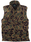 [Woolrich� Men's Andes Print Fleece Vest]