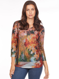 [FDJ French Dressing� Walk in the Park Sweater]