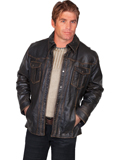 [Mens Scully Men's Lambskin Leather Jacket]