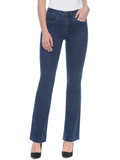 [ FDJ French Dressing� Olivia Flare Leg Mid-Rise Jeans]