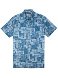 [Tori Richard� Men's Scratchboard Cotton Lawn Shirt]