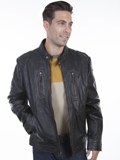 [Mens Scully Men's Vintage Lamb Leather Jacket]
