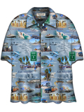 [David Carey, Inc. Men's SoCal Camp Shirt]