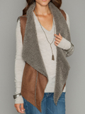 [True Grit Women's Ruffle Reversible Vest]