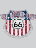 [David Carey, Inc. Men's Route 66 Shield T-Shirt]