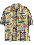[David Carey, Inc. Men's Chevy Route 66 Camp Shirt]