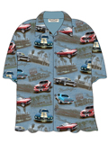 [David Carey, Inc. Men's Ford Denim Mustang Camp Shirt]