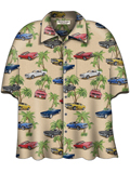 [David Carey, Inc. Men's Ford Old Mustangs Camp Shirt]