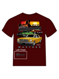 [David Carey, Inc. Men's Ford Mustang Classic HP T-Shirt]