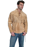 [Scully Mens Men's Mountain Man Boar Suede Shirt]