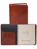 [Scully Italian Leather Desk Size Planner]
