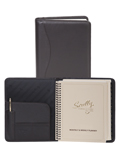 [Scully Soft Plonge Leather Desk Size Planner]