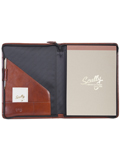 [Scully Italian Leather Zip Letter Pad]