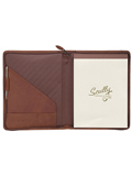 [Scully Canyon Leather Zip Letter Pad]