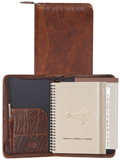 [Scully Antique Calf Zip Weekly Planner]