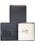 [Scully Soft Plonge Leather 3 Ring Monthly Planner Organizer]