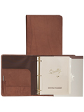[Scully Sierra Leather 3 Ring Monthly Planner Organizer]