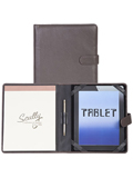 [Scully Soft Calfskin Tablet Padfolio]