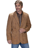[Scully Men's Frontier Leather Western Blazer]