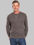 [True Grit� Men's Slub Crew Neck Sweatshirt]