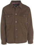 [Woolrich� Men's Dorrington Cotton Twill Shirt Jacket]