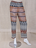 [True Grit Women's Boho Batik Pants]
