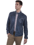 [Mens Scully Lamb Leather Jacket]