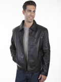 [Mens Scully Men's Lamb Western Concealed Carry Jacket]
