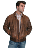 [Mens Scully - Mens Vintage Lambskin Leather B-2  Bomber Jacket]
