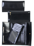 [Scully Ladies Italian Leather Wallet Clutch]