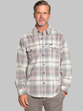 [True Grit� Men's Wayfair Plaid Cord Cotton Shirt]